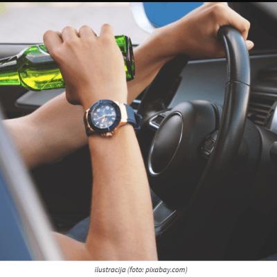 KAŽNJEN SA 30 DANA ZATVORA – Nikšić: Vozio sa 3,34 promila alkohola u krvi