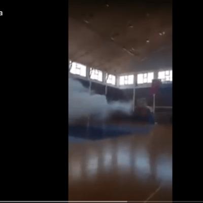 Huligani bacili suzavac na djecu u sali Sportskog centra