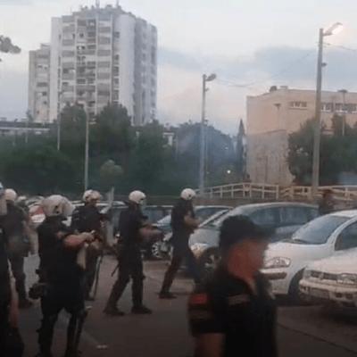 Suzavac ispred CB Podgorica: Uhapšeni Jočić i Zogović, privedeno više osoba