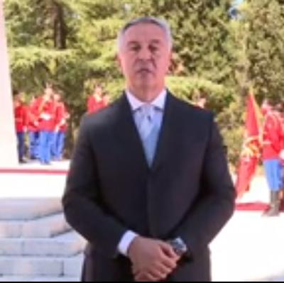 Čestitka predsjednika povodom Dana državnosti – Đukanović: Crna Gora je odlučna da odbrani multietničko društvo