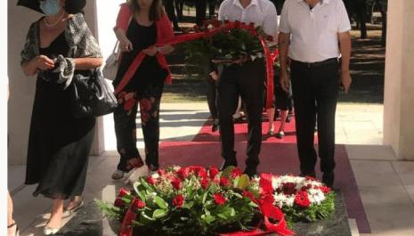 Delegacija SNP položila vijenac na Spomenik partizanu-borcu na Gorici