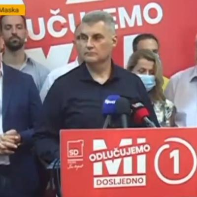 Brajović: Bolji rezultat za SD nego 2016, saradnja samo sa onima koji dijele naše ideje