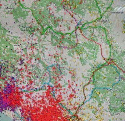 Crnu Goru za 12 sati pogodilo preko 58.000 munja