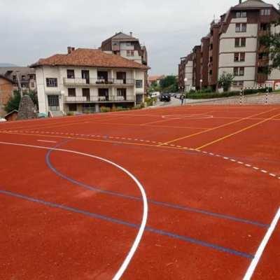 Završni radovi na adaptaciji i izgradnji sportskih igrališta u Gagovića imanju i terenu kod Gimnazije