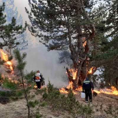 Žabljački vatrogasci – hrabri u planini, na litici i u požaru!