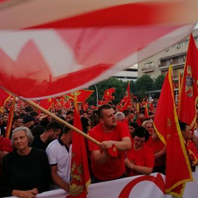 Skup u Podgorici: Policija procijenila da je bilo 50.000 ljudi