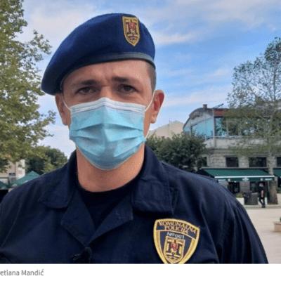 Milović: Prevencije je bilo dosta, počinjemo sa podnošenjem krivičnih prijava za nenošenje maski na otvorenom