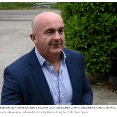 Joković: Neće biti lako formirati vladu, ali ovo je jedina prilika