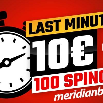Za srećan početak – 10€ bonusa i 100 besplatnih spinova!