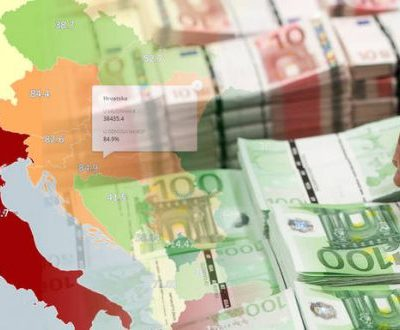 Javni dug Crne Gore bi mogao porasti na 90 odsto BDP-a