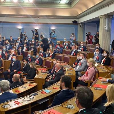 Online glasanje za novu Vladu