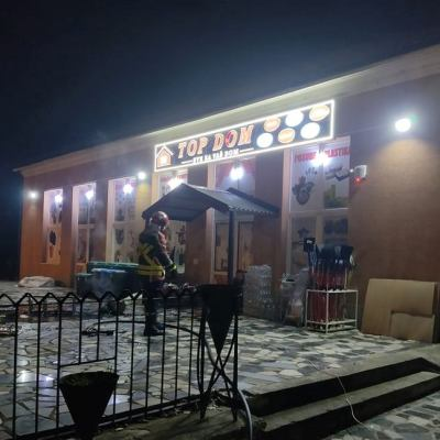 "Požar na objektu TOP DOM-a, bivšem hotelu ""Tara"""