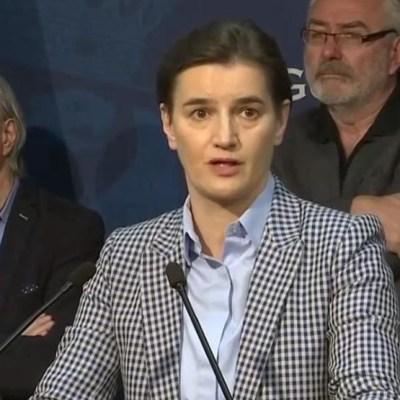 Brnabić: Povlačimo odluku o protjerivanju crnogorskog ambasadora