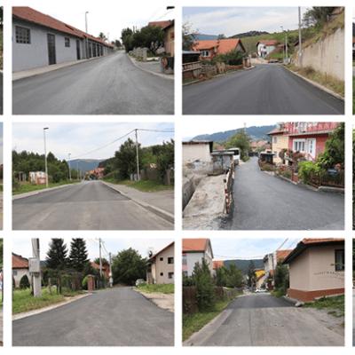 Završena sanacija i asfaltiranje gradskih saobraćajnica