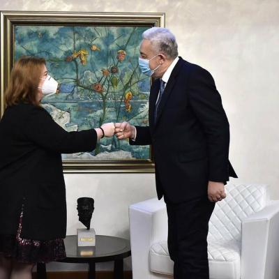Krivokapić se sastao sa ambasadorkom SAD: Razgovarali o kohabitaciji i opozivu ambasadora