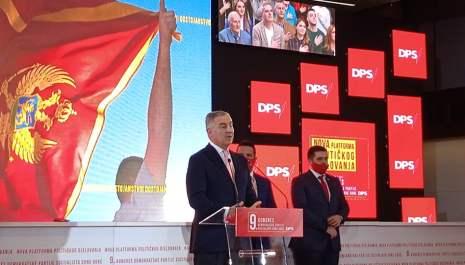 Đukanović predsjednik DPS-a, Damjanović, Vuković, Eraković i Dizdarević potpredsjednici