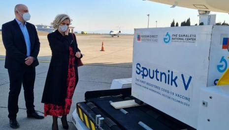 Stigao kontingent od 5.000 doza Sputnjik V vakcine