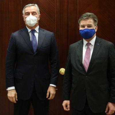 Đukanović sa Lajčakom: Održati dominaciju proevropske misli na Zapadnom Balkanu