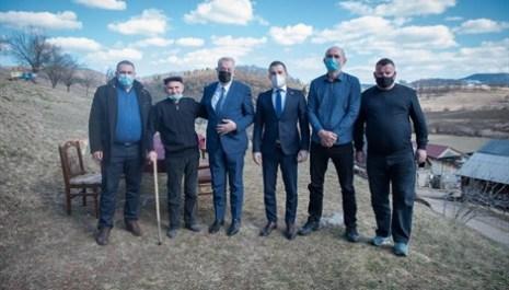 Predsjednici Vlade i Skupštine održali sastanak sa predstavnicima Unije udruženja stočara Crne Gore u selu Lijeska u Pljevljima