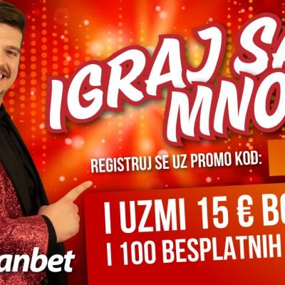 Isak Šabanović donosi nevjerovatne poklone u Meridianu!