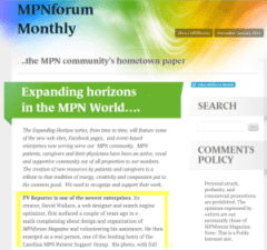 PV Reporter Featured in MPNforum