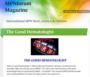 The Good Hematologist