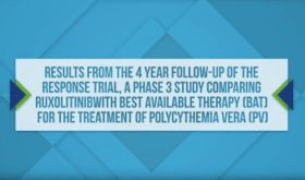 Dr. Jean Jacques Kiladjian at ASH 2017, 4 Year Follow up on RESPONSE Trial, a Phase 3 Study Comparing Ruxolitinib with Best Available Therapy for Treatment of Polycythemia Vera