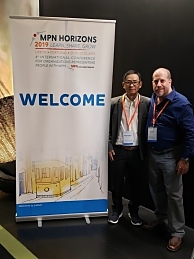 MPN Horizons 2019 conference, Pasusant Wattanaboonya and David Wallace