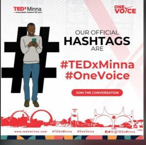 TDEx Minna hashtags