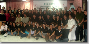 Group photo of workshop attendees, focal persons, awardees and resource speakers