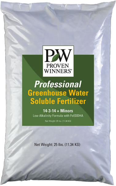Proven Winners Professional Water Soluble Fertilizers Four Star Greenhouse