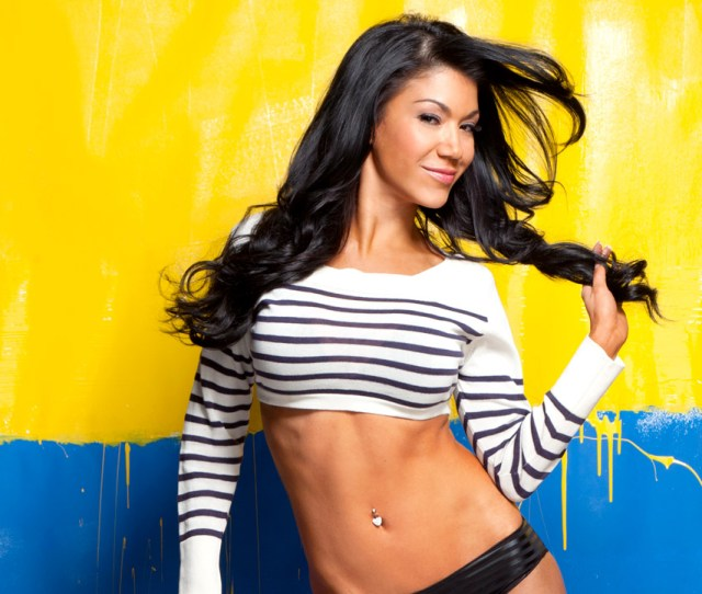 Hot New Photos Of Rosa Mendes Showing Off Her Sexy Legs