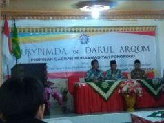 Suasana Musypimda dan Baitul Arqom PDM Ponorogo.