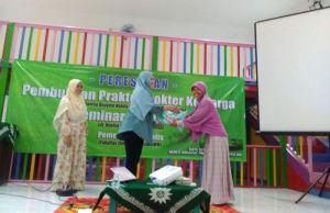Simbolis peresmian Klinik Dokter Keluarga 'Aisyiyah Dau, Kabupaten Malang. (Foto: Khasanah Sripalupi)