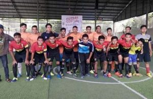 Peserta turnamen futsal PC IMM Lamongan berfoto bersama. (Foto: Musa)