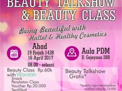 Pamflet Beauty Talk Show