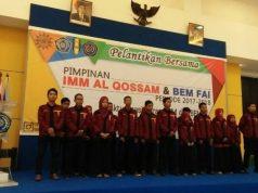 Pelantikan bersama PK IMM FAI UMSurabaya dengan BEM FAI
