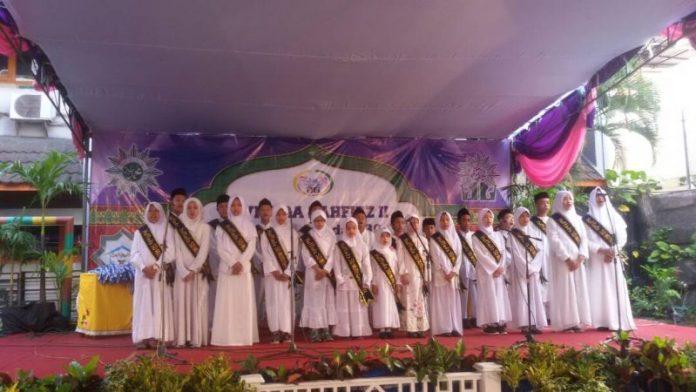 Ratusan siswa-siswi ikuti Wisuda Tahfidz II SD Mutu Gresik