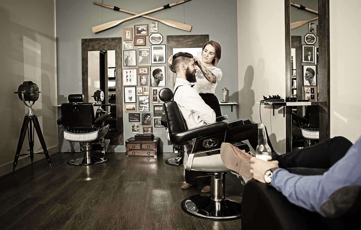 Brisbane Barbershop Lifestyle Photography By Paul Williams