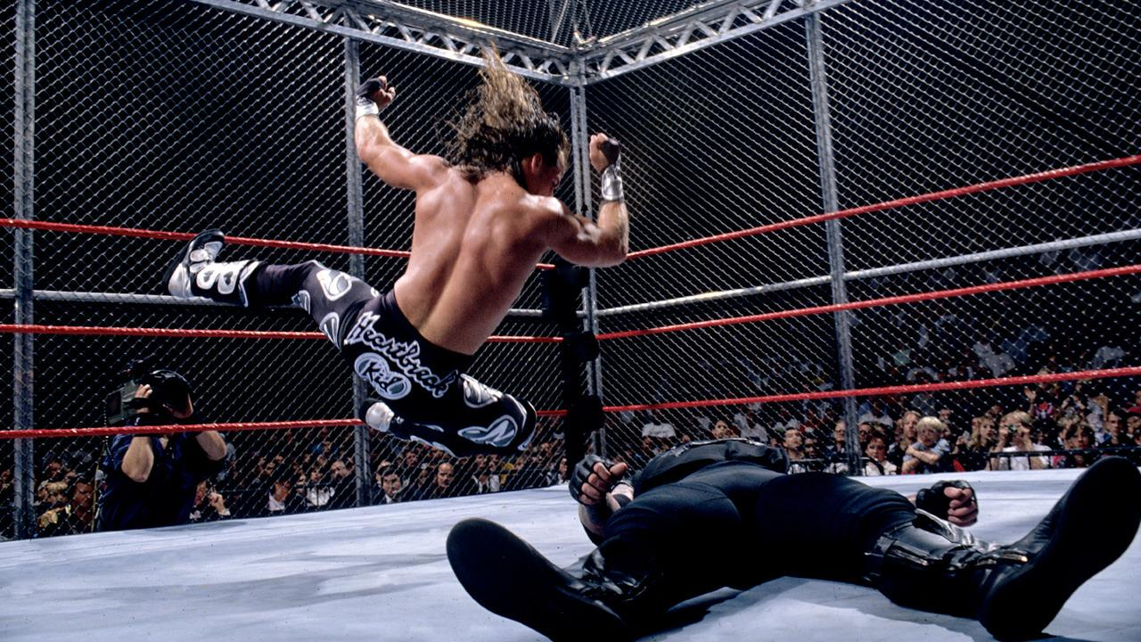 Highway to Hell in a Cell: Shawn Michaels vs. The Undertaker - Badd Blood 1997 - PWP Nation