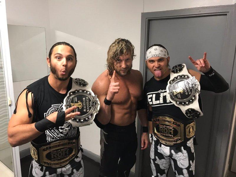 Risultati immagini per THE ELITE NJPW