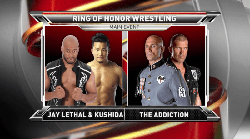 ROH 10/28/17 TV Review: The Addiction vs Lethal & KUSHIDA