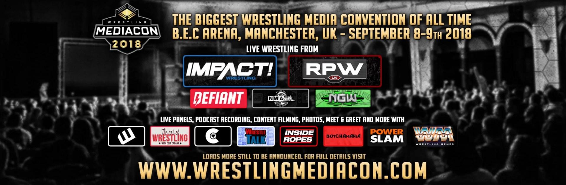 Huge Uk Wrestling Fan Convention Set For Manchester Pwponderings