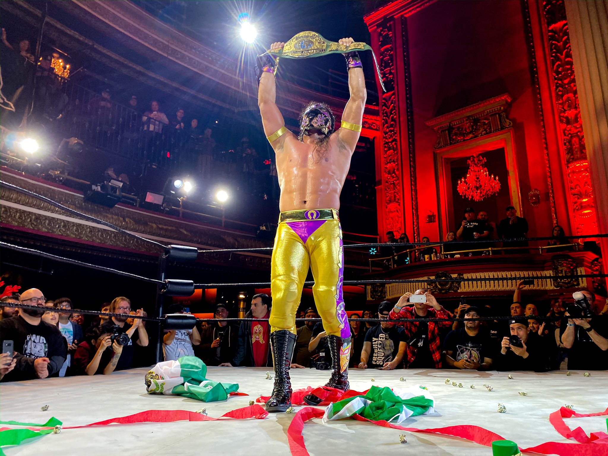 Bandido Wins PWG World Title at The Makings of a Varsity Athlete ...