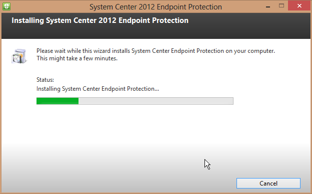 System Center 2012 Endpoint Protection