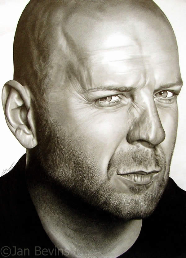 Portrait of Bruce Willis