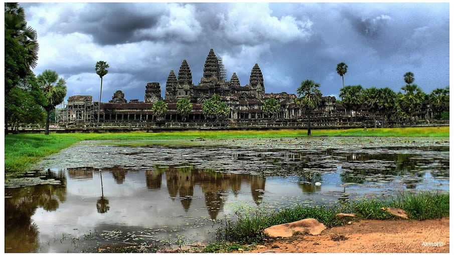 Angkor Wat at Cambodia