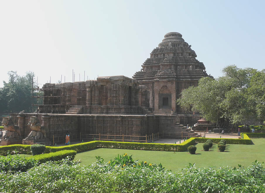 Konark Sun Temple in India