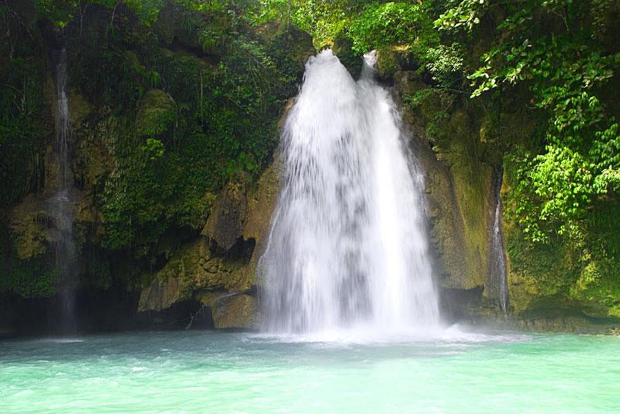 1st Waterfall at Kawasan