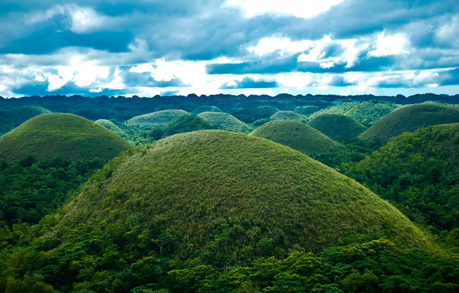 The Chocolate Hills, Bohol Philippines